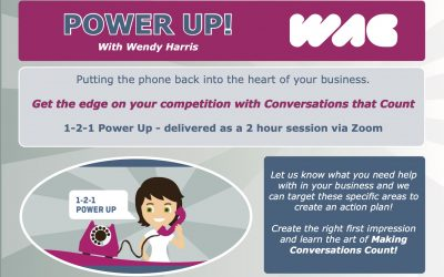 Wendy Harris – 1-2-1 PowerUp Session to make your conversations count