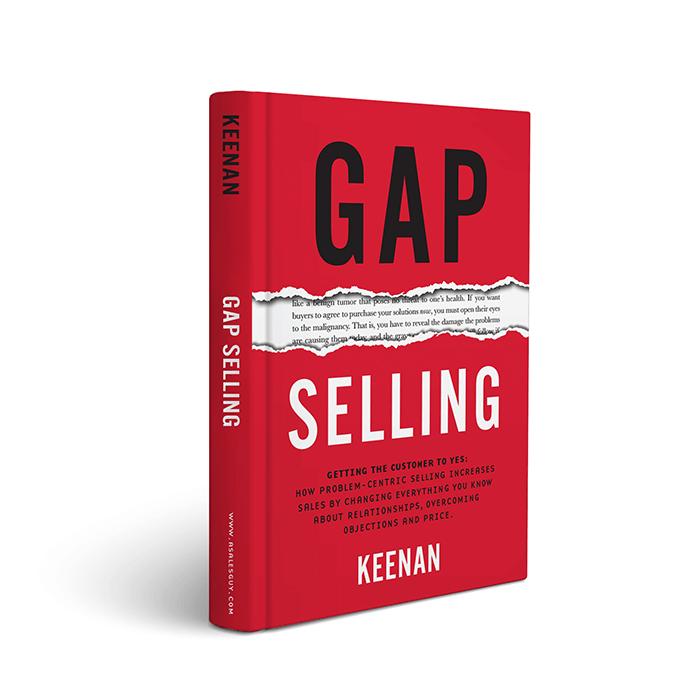 Gap selling book Keenan