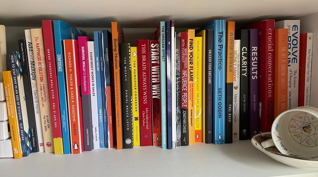 Wendy's bookshelf