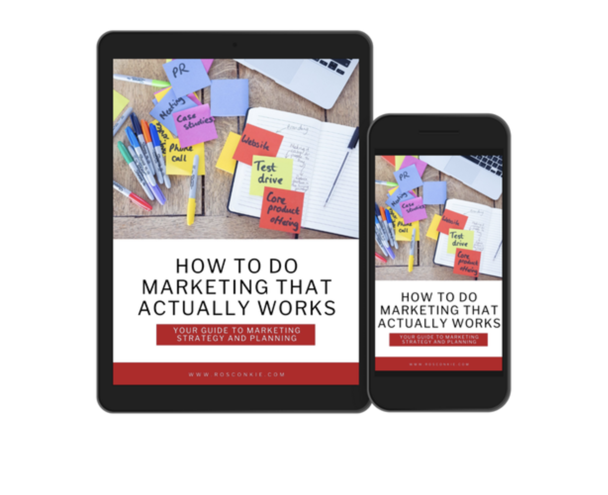 How to do marketing that actually works